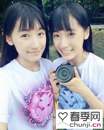 复旦双胞胎姐妹网络走红