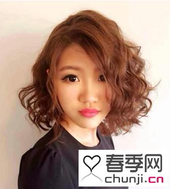前卫流行短发烫发锦集 打造韩版流行风格
