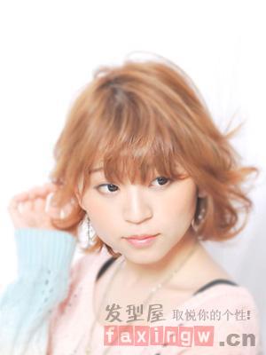 甜美日系波波头发型 时尚可爱气场十足 - 百科教程网