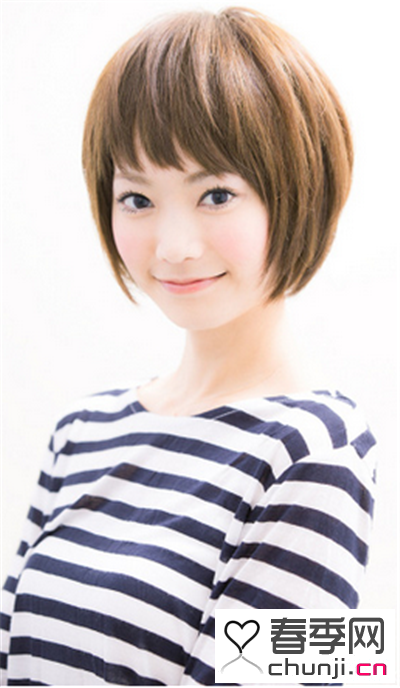 短发女生直发发型 带来夏季小清新