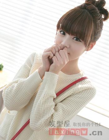 可爱韩国女生发型搜罗
