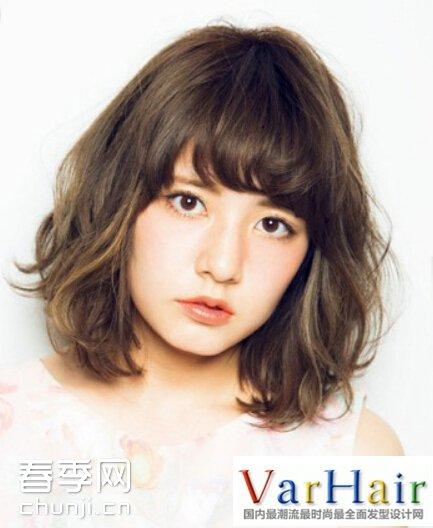 短发烫发爆 小卷发型 韩国 短发烫发发型女-短发小卷女烫发发型