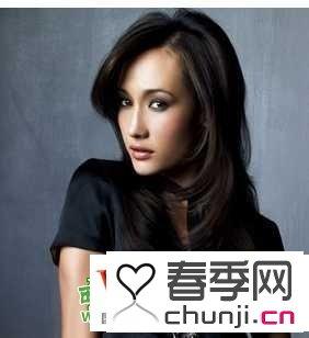 适合圆脸方脸的发型 韩国女明星方脸发型