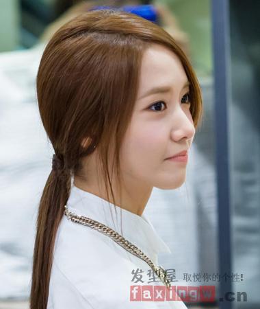 最新时尚韩式发型扎法