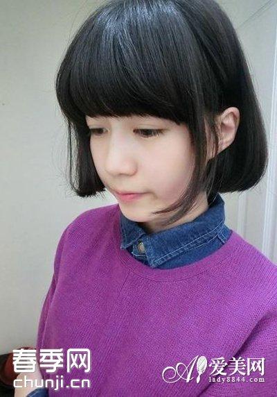 请问图中女生的发型是做的?求解!-百科教样式发型图图片