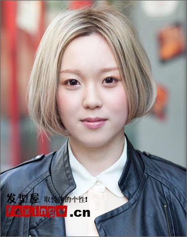 2013最流行的沙宣波波头发型图片 完美改善肉肉脸型图片