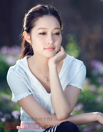 韩国校园清纯女生发型推荐