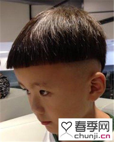 儿童时尚雕刻发型