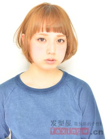 淑女短发发型设计 凸显清新可爱气质