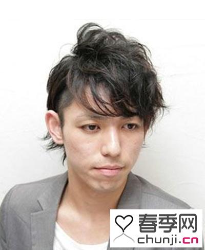 发型 > 男生时尚帅气的纹理烫造型设计