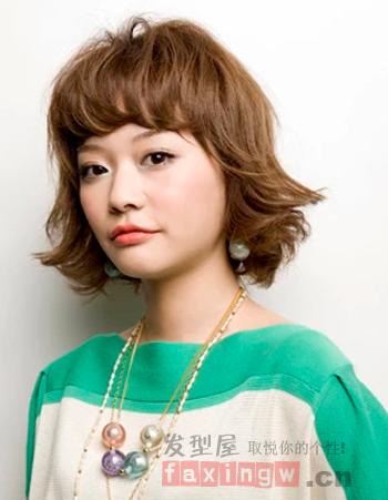 韩式灵动短发外卷发型 打造个性做时尚一族
