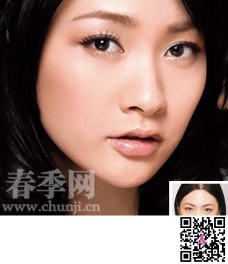 简单几步画出甜美可人的和气美颜 chunji.cn高清图片