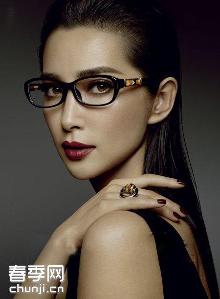 ol眼镜妆让你美到没朋友