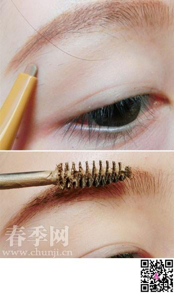 初学者如何巧画眼影,秋冬季撞色眼影搭配
