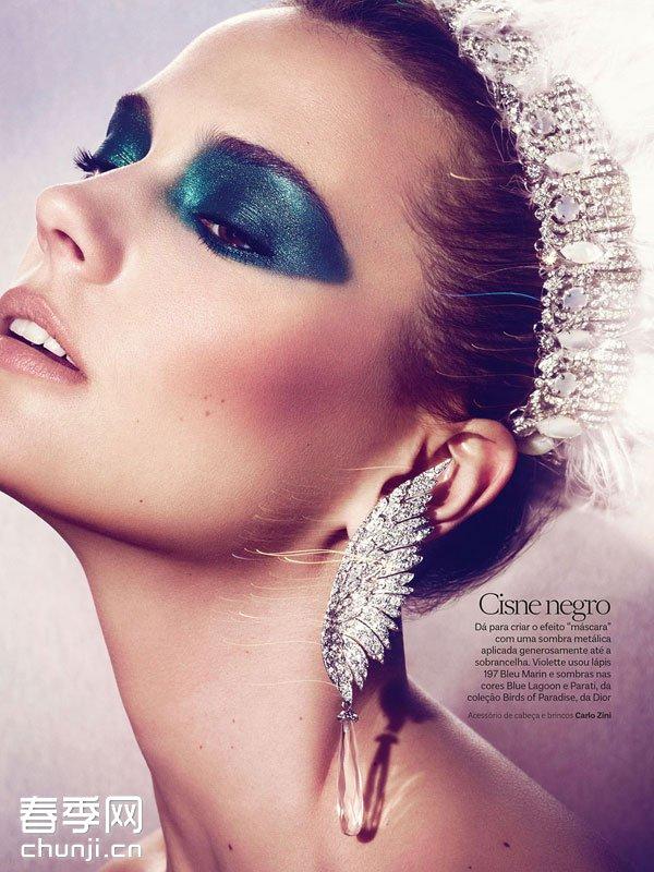巴西版《vogue》杂志2014年2月刊号美妆大片