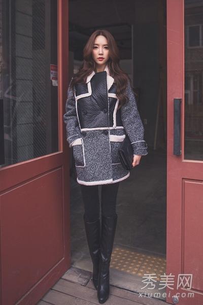 2013冬季流行女装搭配 尽显轻熟女魅力 高清图片