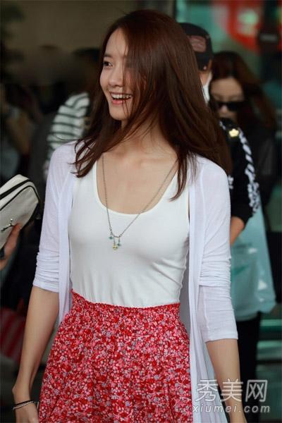 亚洲最美女星林允儿 小清新着装惹人爱图片