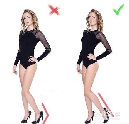 拍照怎么摆姿势显腿长?