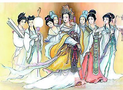 秦朝皇帝手绘图