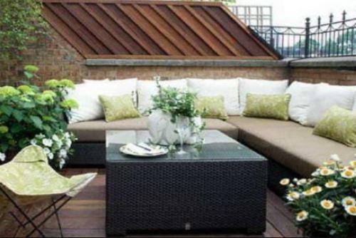 室内设计理论 > 房屋露台设计           将房屋露台设计成小巧的阳光