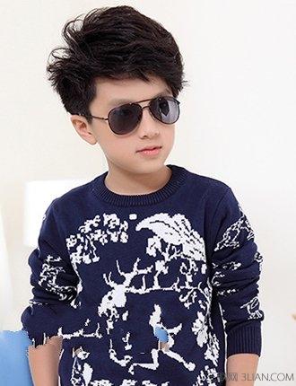 2014小学男生发型设计图片