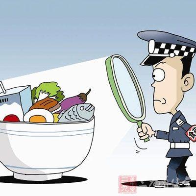 食品安全卡通图片