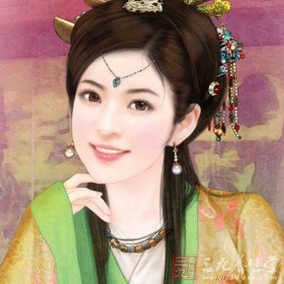 古代美人手绘 赵飞燕