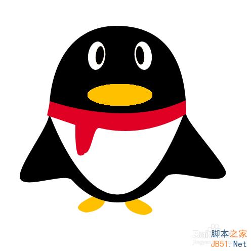 如何画qq企鹅?ps路径工具绘制qq企鹅方法