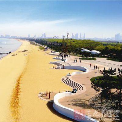 萬平口風景區是日照市黃金海岸線上
