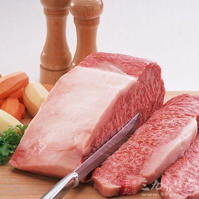 不能吃油腻的食物如肥肉