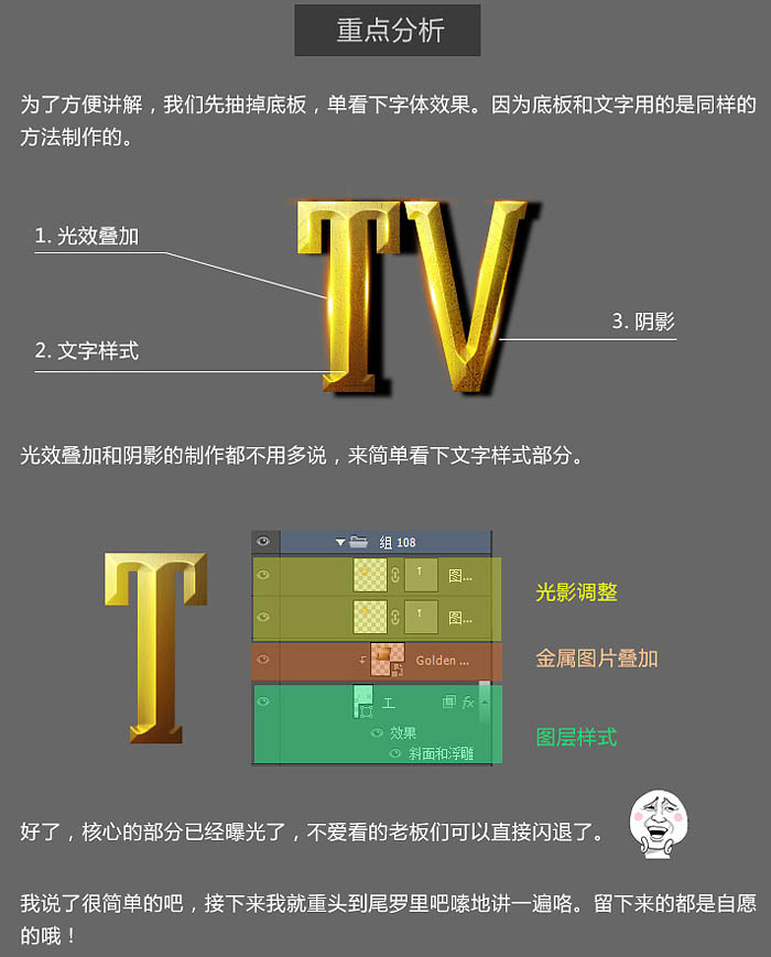 photoshopv手工简洁手工的金色曲线命令字-百科教程cad立体首大气绘制等高质感图片