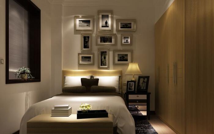 【客厅和卧室隔断造型】   1、完全透明的玻璃隔断.在任