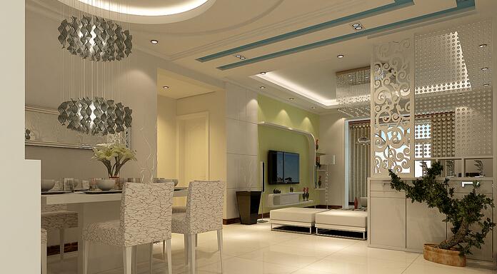餐厅和客厅隔断设计技巧