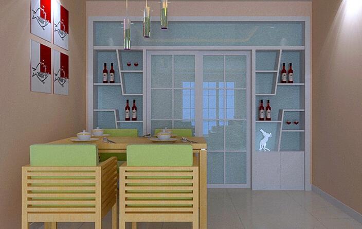 【活动隔断设计】 这是一个凌驾于木质地板上面的玻璃门隔断,这是一个可伸缩可推拉的玻璃门隔断,完全将客厅与外面的空间隔开了,给客厅一个安静的小空间。用玻璃门隔断一方面的好处就是给人一种清爽的感觉,能看见客厅内的装饰;另一方面就是在空间上更好地体现一种层次感,加上这个客厅的墙壁颜色是白色,所以玻璃门隔断正好与它相呼应。活动隔断在色调上与客厅一致的搭配,在简约中出凸显着时尚。 屏风作为一个典型的活动隔断方式在中式风格设计的客厅中式较为常见的。图例中式古典风格客厅中采用屏风活动隔断的半隔断方式将客厅与餐厅分隔开