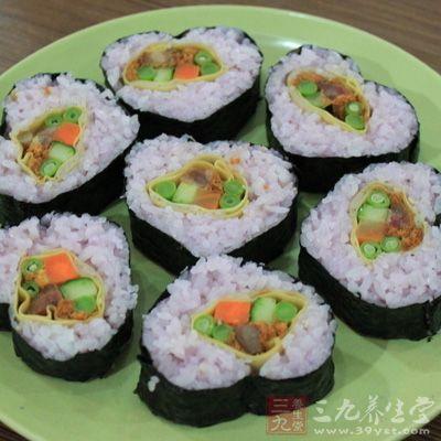 寿司的做法三的制作方法