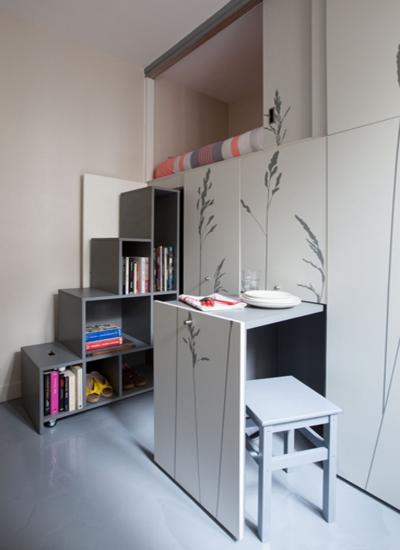 10平米单身公寓设计