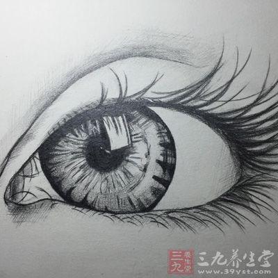 素描画眼的步骤