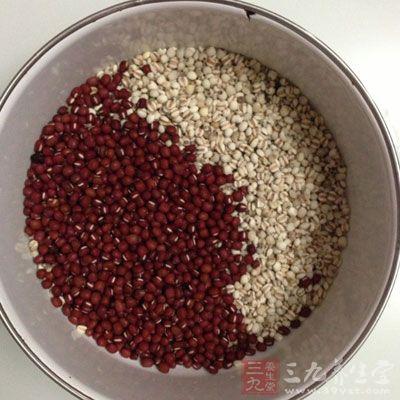 薏米红豆黑豆的功效
