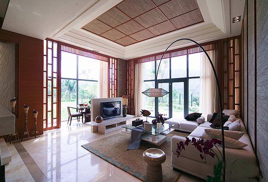 客厅吊顶效果图,家居天花板装饰