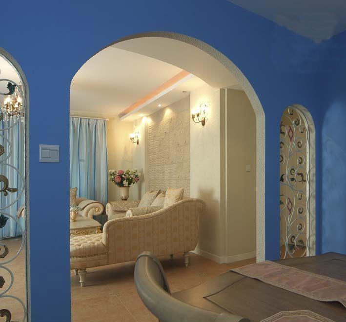 地中海风格家居装修效果图高清图片