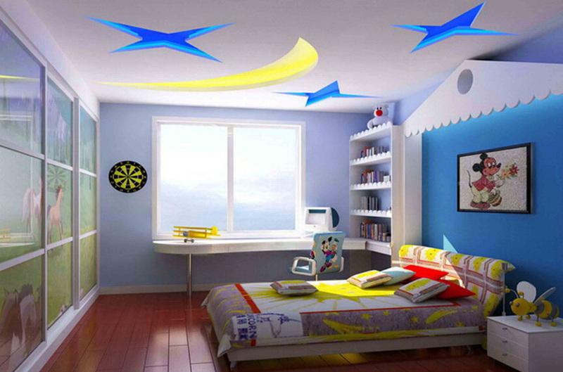 儿童房效果图图片