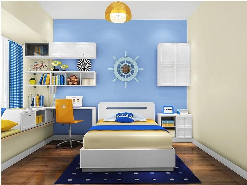 儿童房装修设计遵循8个原则