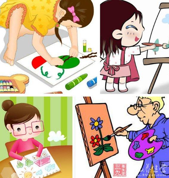 画画对孩子有什么好处