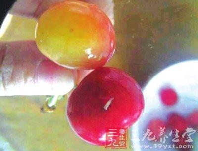 樱桃会生蛆吗_肉馅樱桃\
