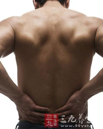 腰疼按摩什么部位图解