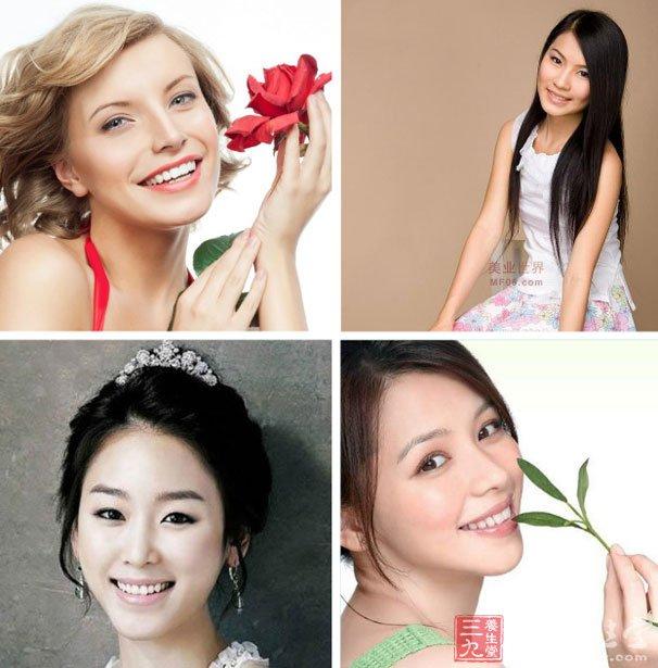4.女人的微笑最动人     经常有人讲,爱笑的女孩运气不会差.图片