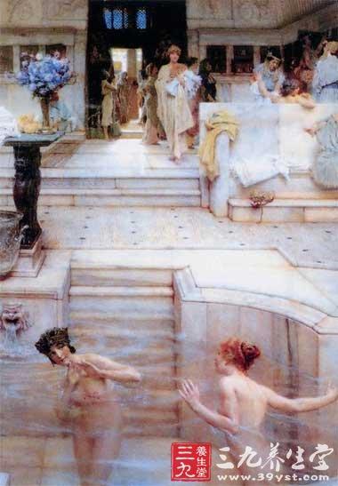 古罗马 沐浴spa的忠实粉丝