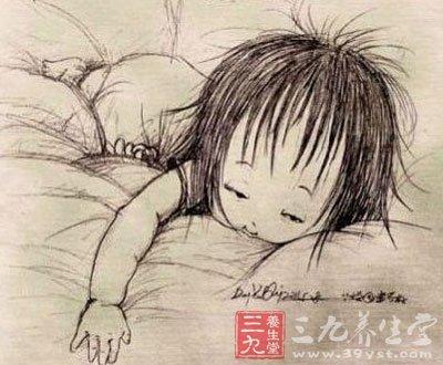 父亲为女儿画百睡图感动网友 荐宝宝正确睡姿